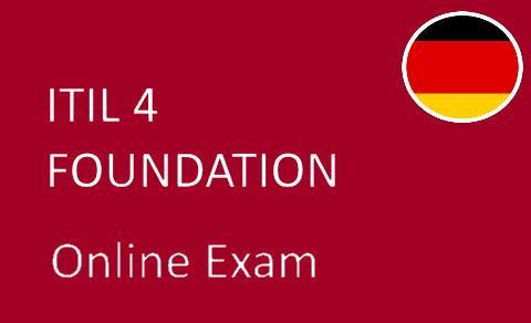 ITIL 4 Foundation   DE01