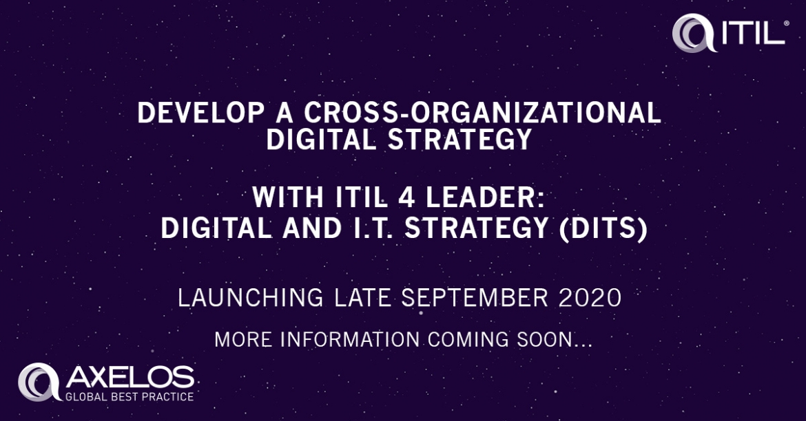 ITIL 4 Leader: Digital and IT Strategy