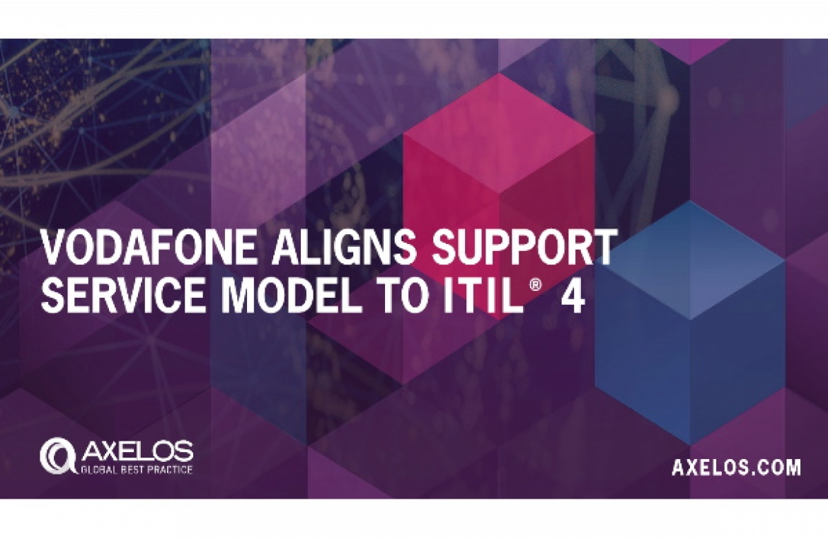 Vodafone Aligns Support Service Model to ITIL 4 Case Study